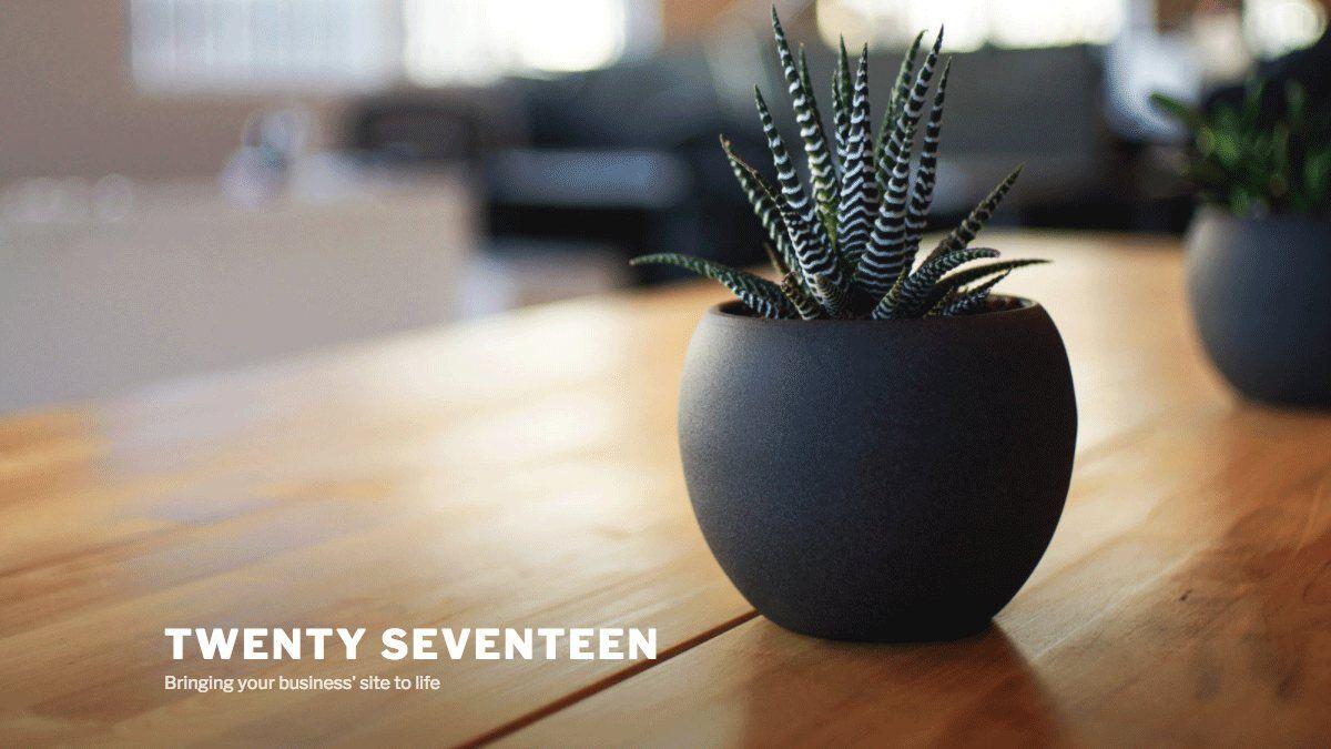 Theme Twenty Seventeen im Themeverzeichnis von Wordpress